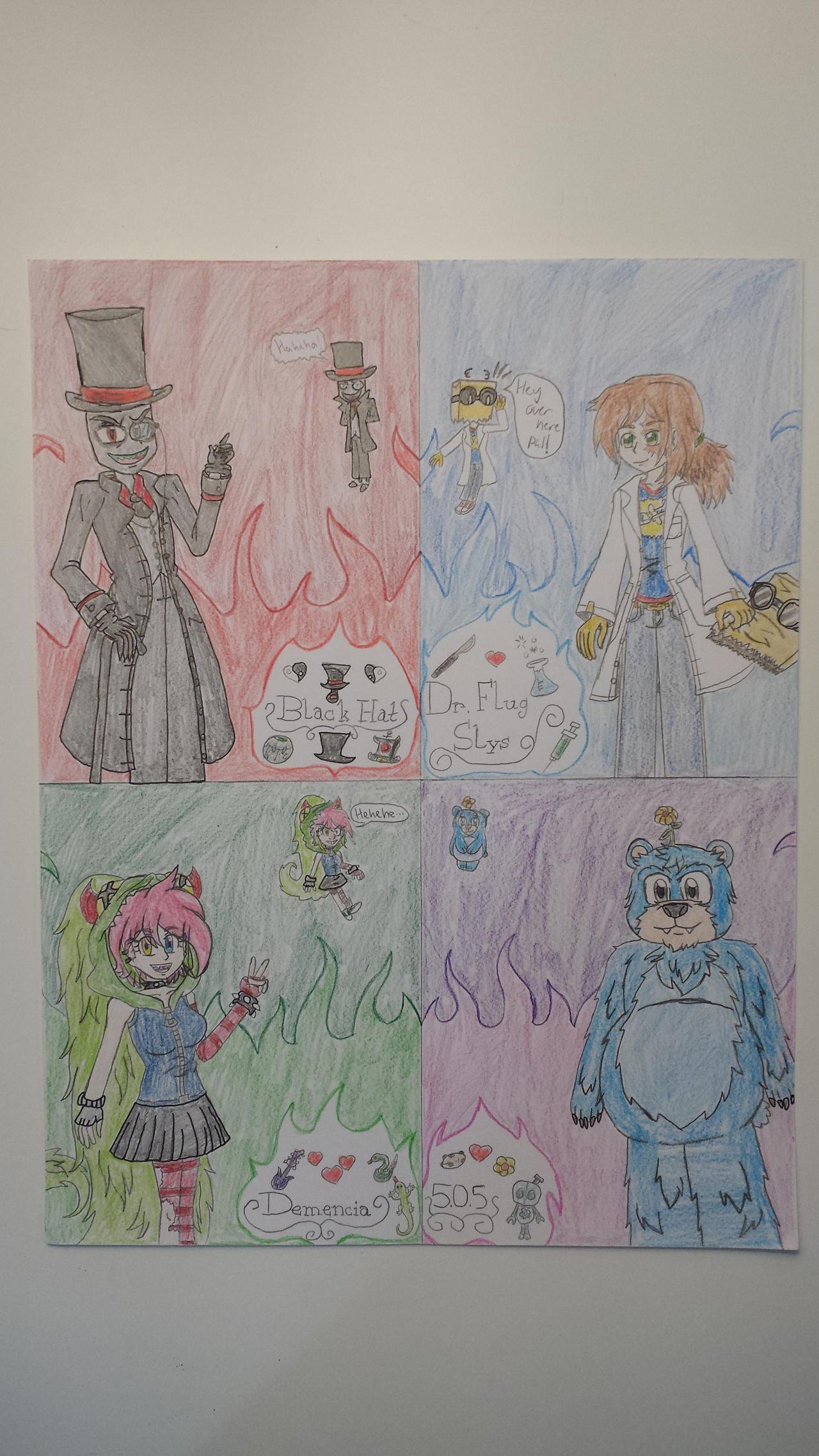 Cartoon Network Fusionfall Villainous By Animeria On Deviantart