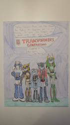 Transformers Generations - Chapter 1 WIP