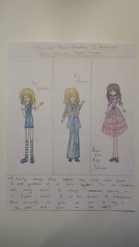 Kevin, Kris and Misty Yukimura - TMNT Wonderland R