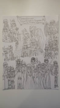 Transformers Prime/RID AU - Monster Hunter Legacie