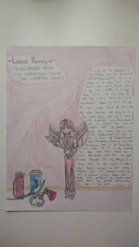 Transformers Prime AU - Luna Honey