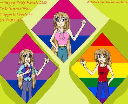 Pride Month 2021 - Yukimura Triplets