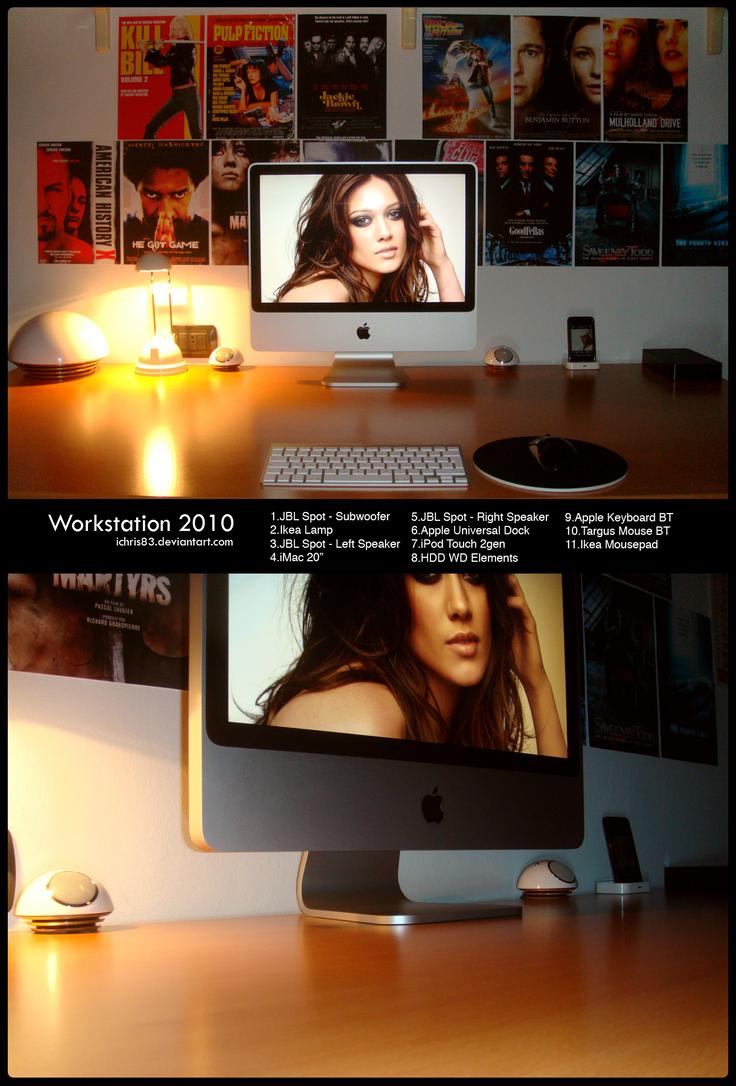 My Workstation-September 2010 by icHRis83