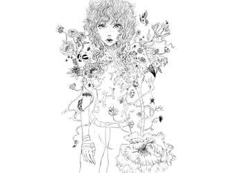 Glencora Line Art by GladrilReem