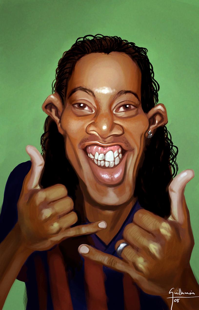 Ronaldinho by Ek-cg