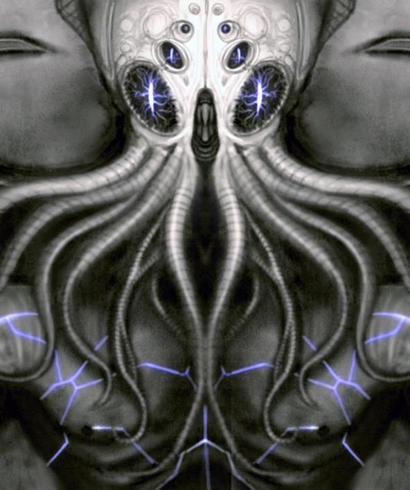 Cthulhu - LOVECRAFT by Ek-cg
