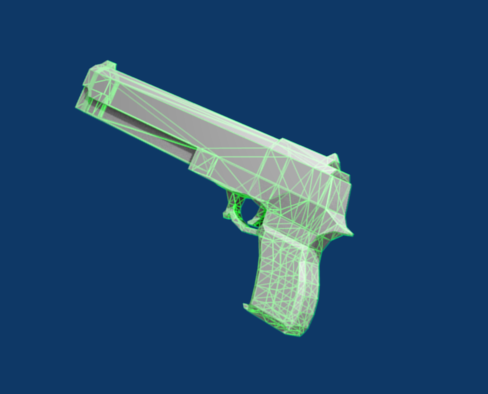 my 3D gallery Low_poly_pistol_by_dae67-d3fhlwz