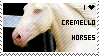I love cremello horses - stamp by troudi94