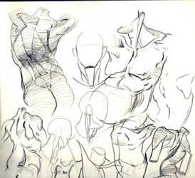 Sketches 4 by nilsvansante
