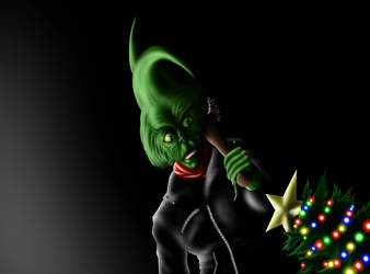 How The Negan Grinch And Lucille Stole Christmas by TheSpiritCreative