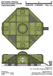 Imperial Rapid Deployment Station - Exterior