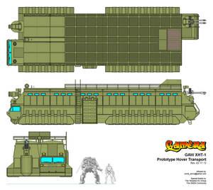 GAW XHT-1 'Gamera' Prototype Hover Transport