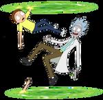 Rick and Morty Portals