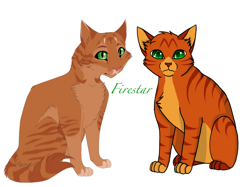 All Warrior Cats Challenge #1Firestar by LotusLostInParis ... Warrior Cat Drawings Firestar