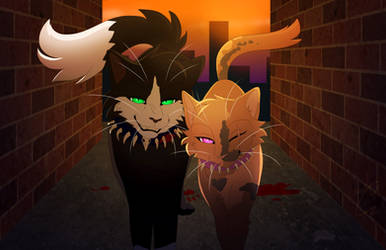 Viper and Venny by LotusLostInParis