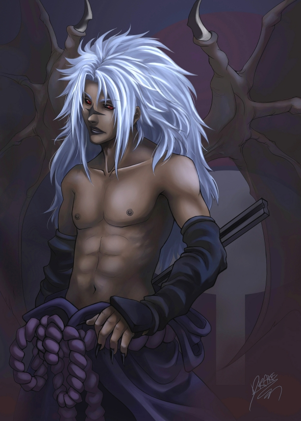 FANART: Cursed Uchiha
