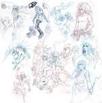Sketch Attack: Fanart