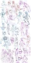 Sketch Attack: Manga Concepts