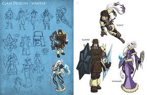 SS2 Characters Winter by Quirkilicious