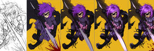 Hit-girl process