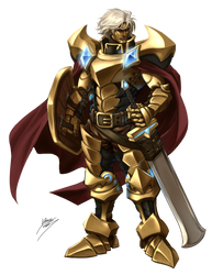 Warrior by Quirkilicious