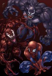 Spider, spider, spider. by Quirkilicious