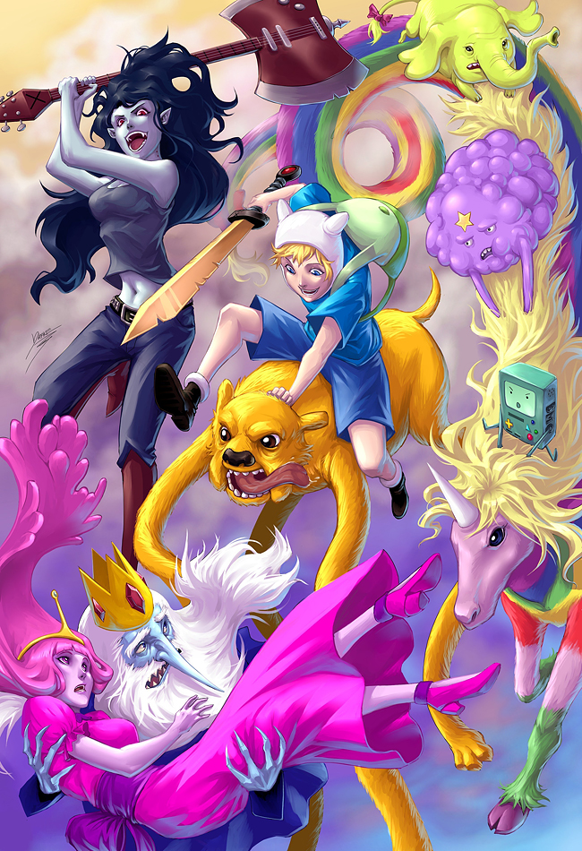 What if adventure time was an anime