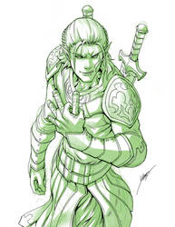Zevran Arainai v2 by Quirkilicious