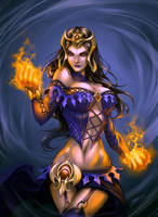 Liliana Vess by Quirkilicious