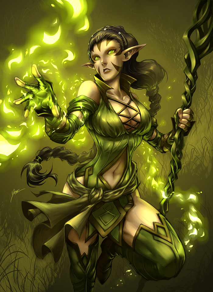 Nissa Revane by Quirkilicious