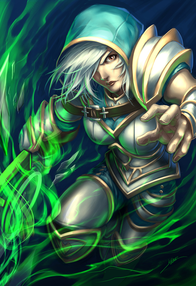 Redeemed by Quirkilicious on DeviantArtBunny Riven Fan Art