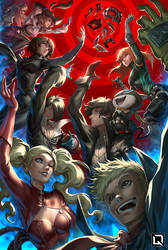 The Phantom Thieves by Quirkilicious