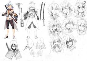 [VRO] Character Design: Vim by RobotCatArt