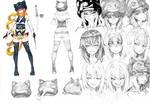 [VRO] Character Design: Neko Noire