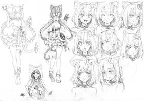 [VRO] Character Design: Miyu by RobotCatArt