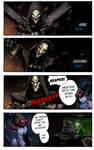 Overwatch 4Koma 01: Reaper's Everyday Regimen