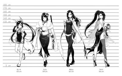 The Lineup by RobotCatArt
