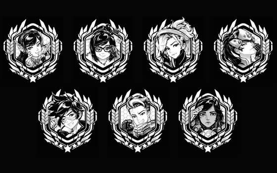 Overwatch Portraits Part I