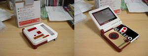 Famicom/NES Game Boy Advance SP