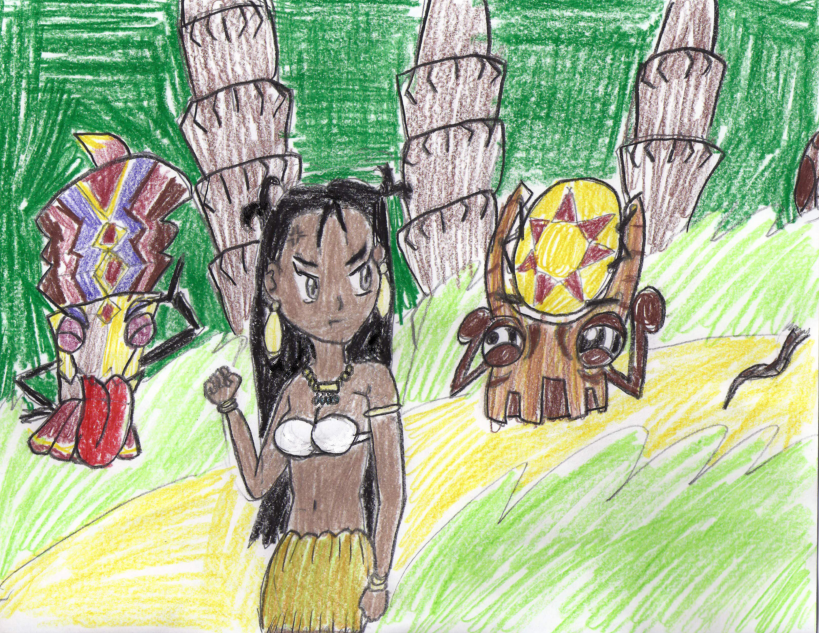 Teased by the Tiki Tak Tribe 2 by PuffyTopianMan on DeviantArt