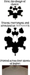 Making a Rorschach Inkblot shirt by FinalSoraRiku