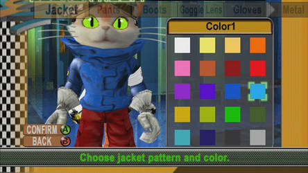 BLiNX 2 Texture Mod/Hack: Blinx's Jacket by FinalSoraRiku