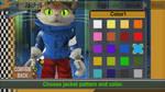 BLiNX 2 Texture Mod/Hack: Blinx's Jacket