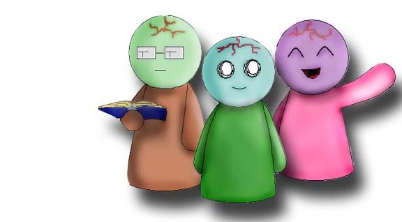 Snoogle + friends by DNAngel607