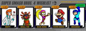 Streetgal's Super Smash Bros 4 wishlist