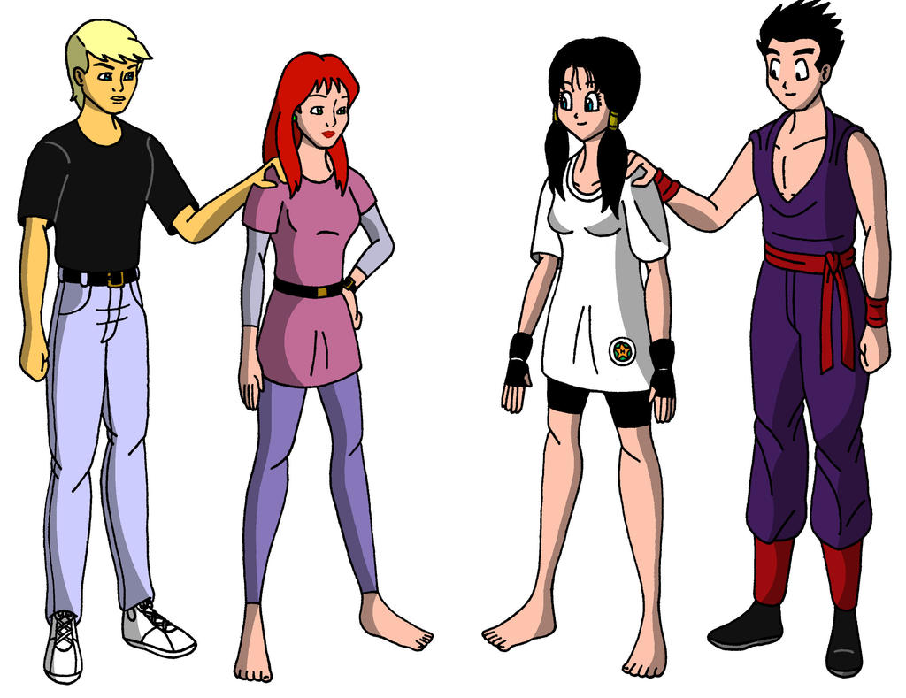 Jonny and Jessie Meets Gohan and Videl
