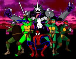 Spiderman vs. TMNT