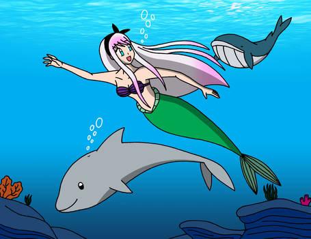 Blih the Little Mermaid