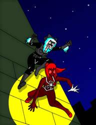 Spider-MJ vs. Black Cat