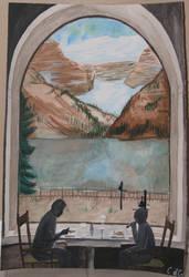 Lake Louise by Oblivious-Rain